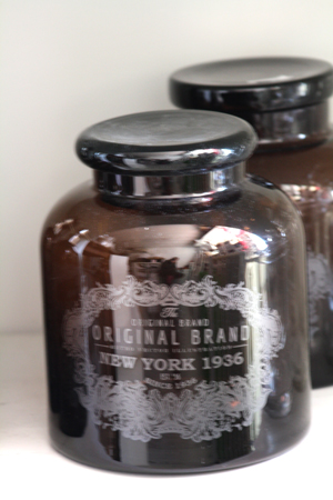 Glasburk Vintage Brun