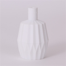 Valkoinen Silikoni Lampunpidikekupu Vekattu
