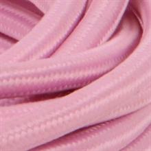 Textilkabel Pale Pink 3m i Låda