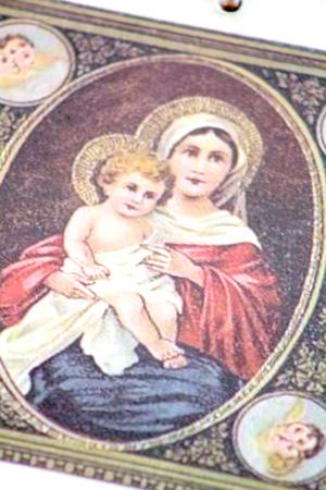 Kortti Kaksipuolinen Maria