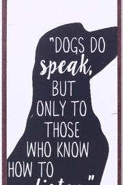 Magnet Dogs do speak