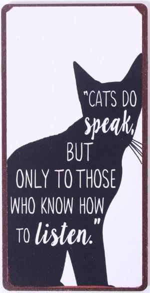 Magneetti Cats do speak