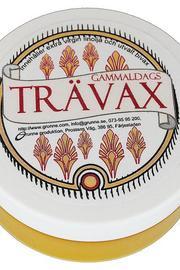 Gammaldags Trävax